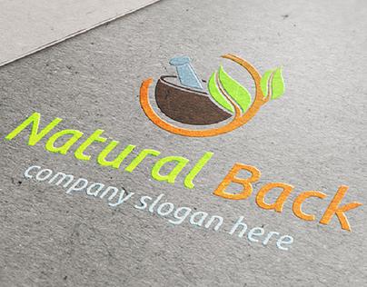 Logo Natural Back