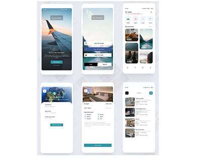 Hotel Booking app UI Design