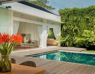 Desain Rumah Moderen Tropis di Bali