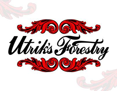 Utrik's Forestry Branding