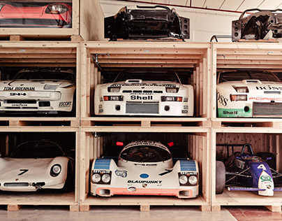 Secret Treasures - the Porsche warehouse
