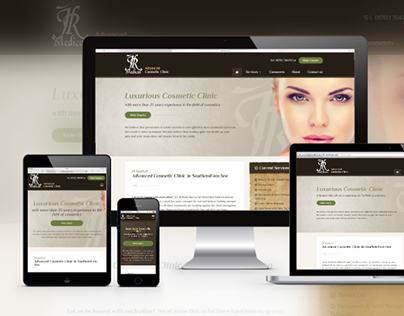 JR Medical - Cosmetic Clinic Web Design