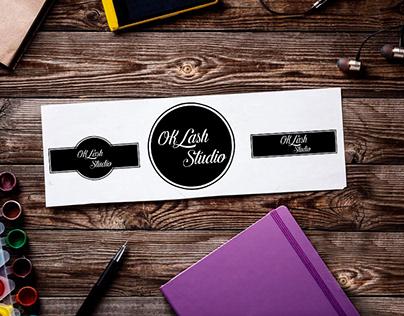 Logo OK Lash Studio