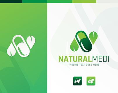 N Letter logo | medicine logo | Letter | Leaf | 2021
