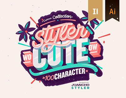 StylerCute | 100 Character.