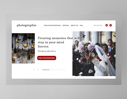 Photographio - Book a wedding photographer!
