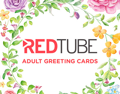 Redtube - Adult greeting cards