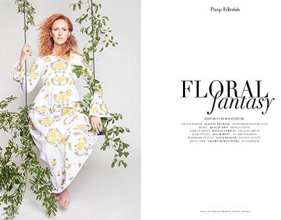 FLORAL Fantasy for PUMP Fashion Magazine