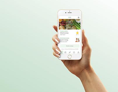 Blacksburg Farmers Market App