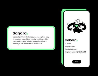 Sahara - Mental Health App