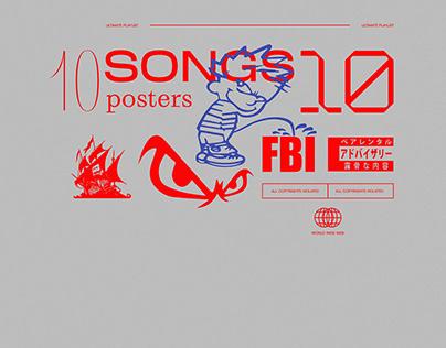 10 SONGS 💀 1ʘ ᵖ๏𝓼𝐭𝐞𝓇𝓼