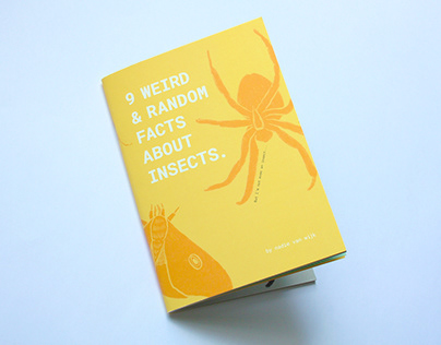 ZINE | 9 WEIRD & RANDOM FACTS ABOUT INSECTS