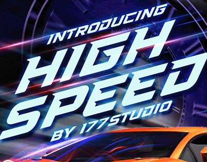 Free Font - High Speed