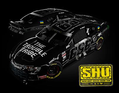 ©SHU Racing Team 2020 NASCAR Camaro