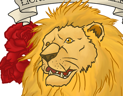 """Lions Don't Lose Sleep..."" tattoo design"