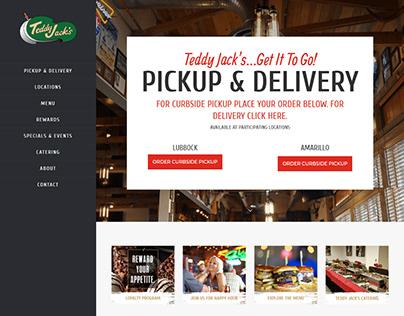Restaurant WordPress website making using Divi theme