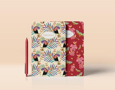 Notebooks - Flora & Fauna
