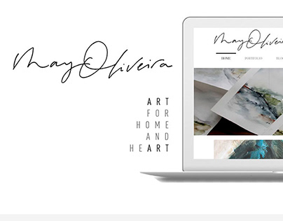 May Oliveira Website