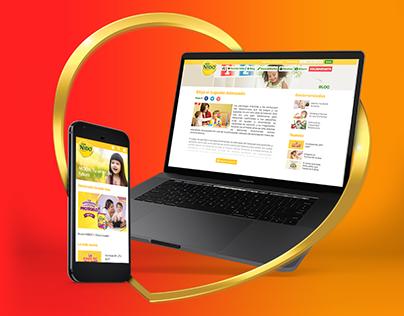 NIDO® Website Responsive