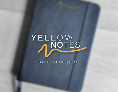 Yellow Notes. Save your ideas.