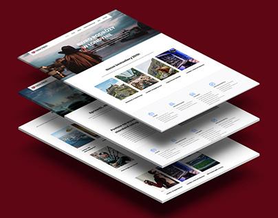 Kinga Travel - logo, strona internetowa i social media