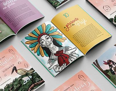 Editorial e ilustração de livro infantojuvenil