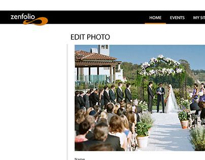 zenfolio- website revamped