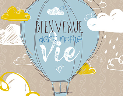 Affiche shower de naissance | Audrey Lord-Brochu