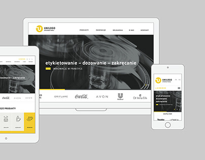 Unilogo International - responsive website