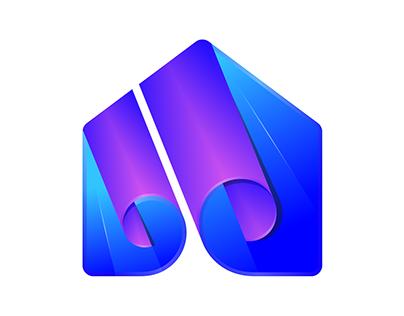 Residence Paper Logo Design
