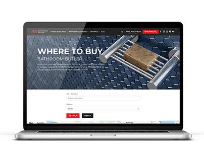 Bathroom Butler E-commerce Website