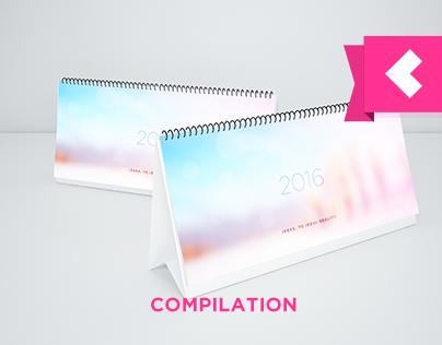 Design & Illustration Compilation Calendar 2016