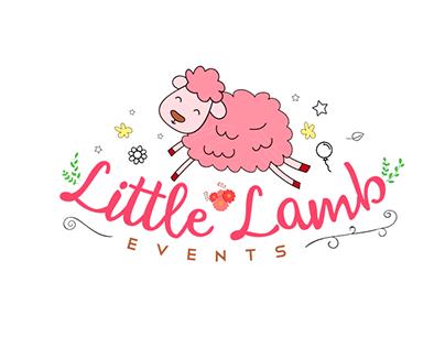 Logo Design: Little Lamb Events