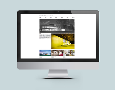 Website Design & Development for Amanda Bone Architects