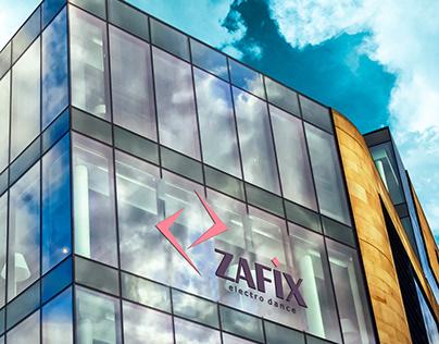 Zafix break dance logo design