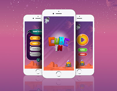 CubeIn mobile game app