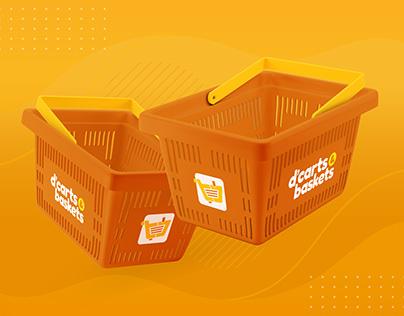 D'Carts & Baskets | Brand Identity