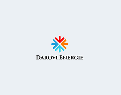 Logo design for French energy company.