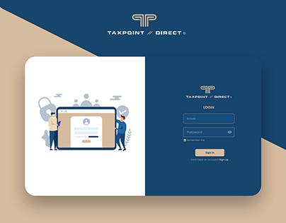 Web Dashboard for Tax