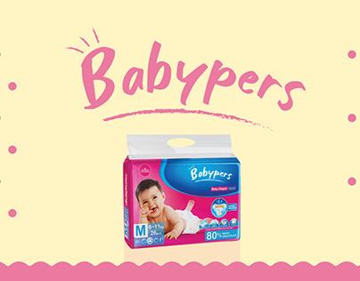 Babypers | Baby Diapers | Branding