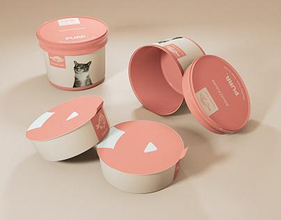 PURR (A cat food brand) | Branding