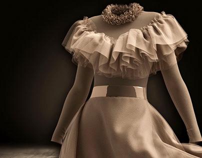 Virtual Mesh Dress
