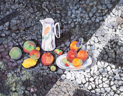 Pavement Paintings