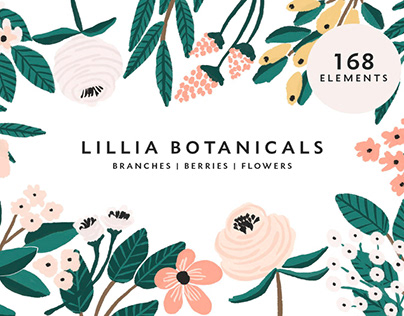 LILLIA - FREE FLORAL ILLUSTRATION PACK