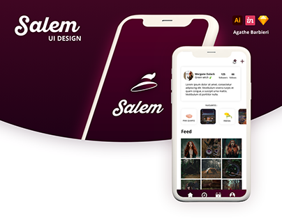 2019 . UX/UI DESIGN - DESIGN MOBILE APP - SALEM APP