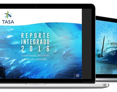 Reporte Integrado 2016 - TASA