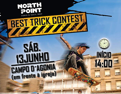 Banner - Evento North Point | Best Trick Contest