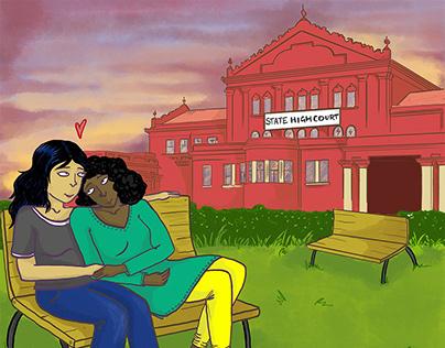 Jhatkaa.org LGBTQIA Campaign | Illustration