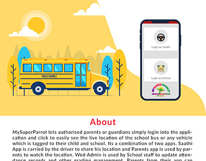 Mobile Apps for School Management and Bus Tracking