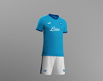 SSC Napoli Football Kit Concept Season 2020/2021